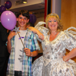 Robby Grigg and his Fairy Godmother.