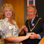 The Fairy Godmother and Mayor join forces to ensure a great panto season at Camberley Theatre.