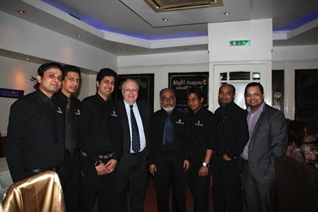 Staff at New Diwan-ee-Khas