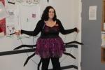 Christine and her amazing spider costume!