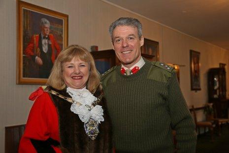 Mayor Harding -Brig McLeod