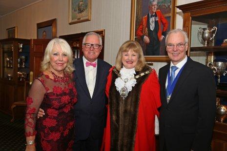 Caroline Knowles-Len Whitlock-Mayor-Consort Malcom Harding