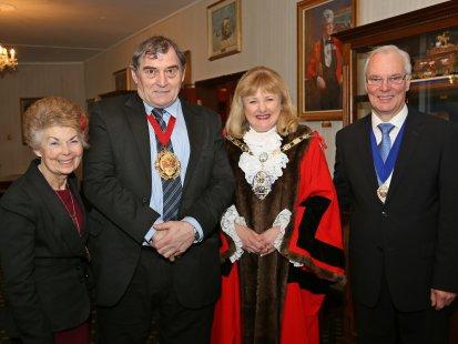 Mayor of Rushmoor & Mayor of Surrey Heath