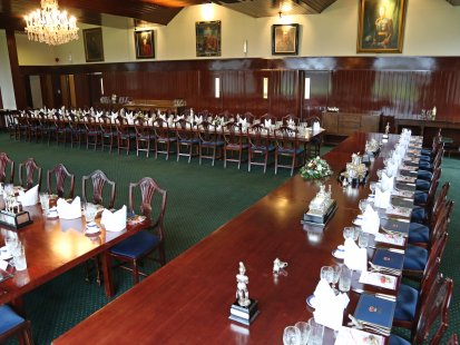 Dining room before the guests arrive