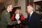 Mayor & Consort greet Brigadier McLeod