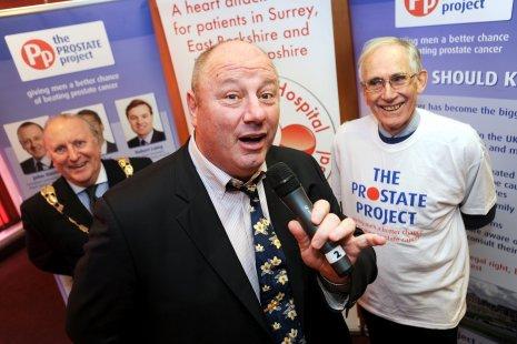 Mayor, Mr Crosby & Colin Stokes.