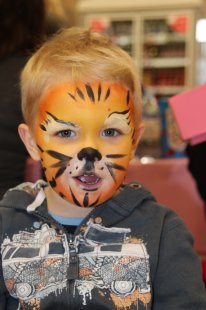 Face Painting is always a hit...