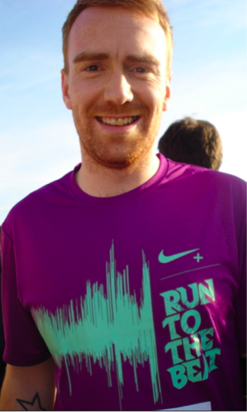 Lydon Smith ran for us at Run to the beat and rasied over £300