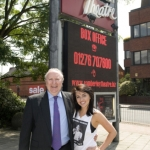 Cllr May & Miss Louisa Lytton