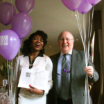 Miss Patti Boulaye & Cllr John May