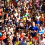 Live Marathon shot...where's Will?