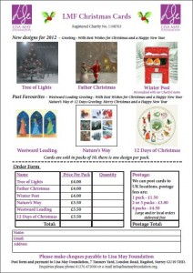christmas card order form 2012 order yours now news lisa may