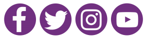 4x1 logos purple circles